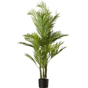 Faux Areca Palm Tree in Pot