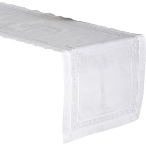 Victoria Embroidered Table Runner