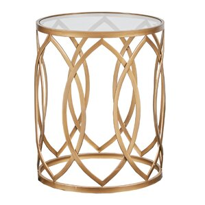 Tennyson Metal Eyelet End Table