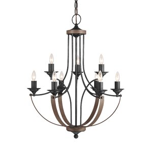 Brookfield 9-Light Candle-Style Chandelier