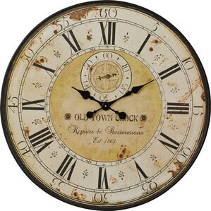 Simona Round Oversized Wall Clock