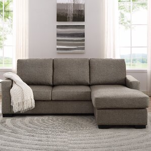 """Liza 87"""" Reversible Chaise Sectional"""