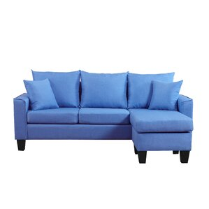"""Slatedale 76"""" Reversible Chaise Sectional"""