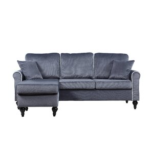 """Bethel 77"""" Reversible Chaise Sectional"""