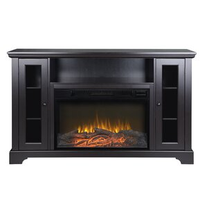 Finnegan Media Console with Electric Fireplace