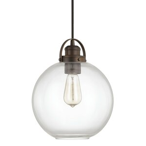 Acadian 1-Light Globe Mini Pendant