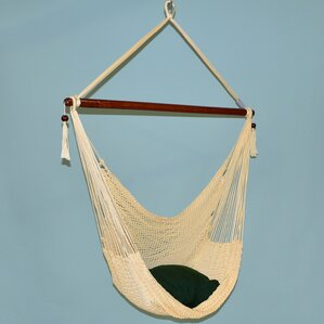 Travis Large Caribbean Polyester Chair Hammock