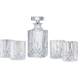 5-Piece Aubrey Decanter Set