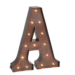 Lighted Marquee Letter Decor