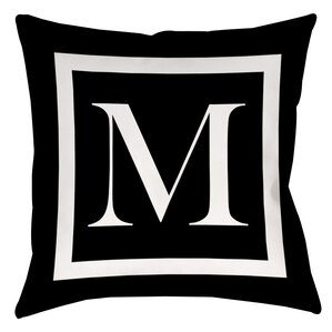 Brockton Personalized Throw Pillow