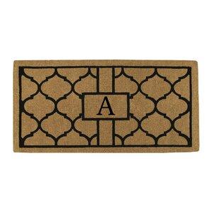 Personalized Trellis Doormat