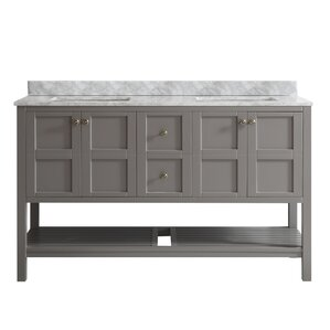 "Simmons 60"" Double Bathroom Vanity"