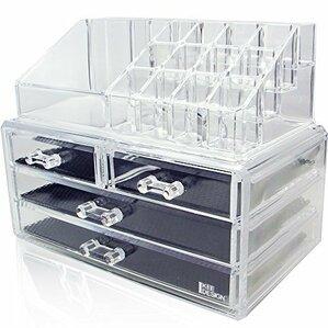 Gemma Jewelry & Cosmetic Storage Display Box Set