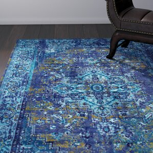 Colleen Blue Area Rug