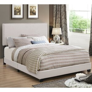 Amsbury Upholstered Panel Bed