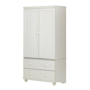 Silverman Storage 2 Drawer Armoire