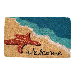 Camden Starfish Welcome Doormat