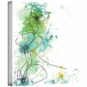 Green Botanica Canvas Art