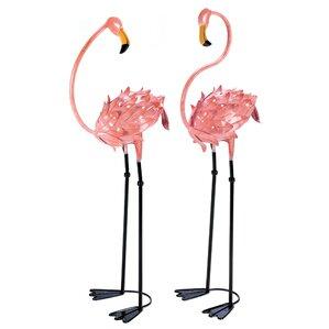 Florida Flamingo Garden Stake