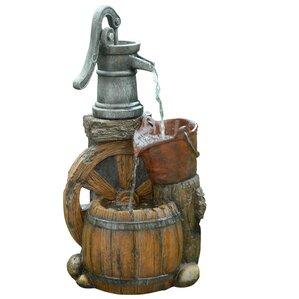 Pump Barrel Fountain