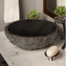 Absolute Granite Circular Vessel Bathroom Sink