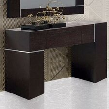 Patterson Wall Console with Mirror by Wade Logan