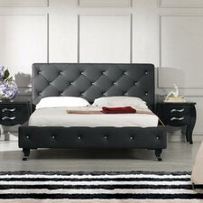 Monte Carlo Upholstered Platform Bed by VIG Furniture