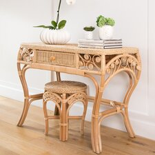 Rosana Rattan Console Table by Bayou Breeze