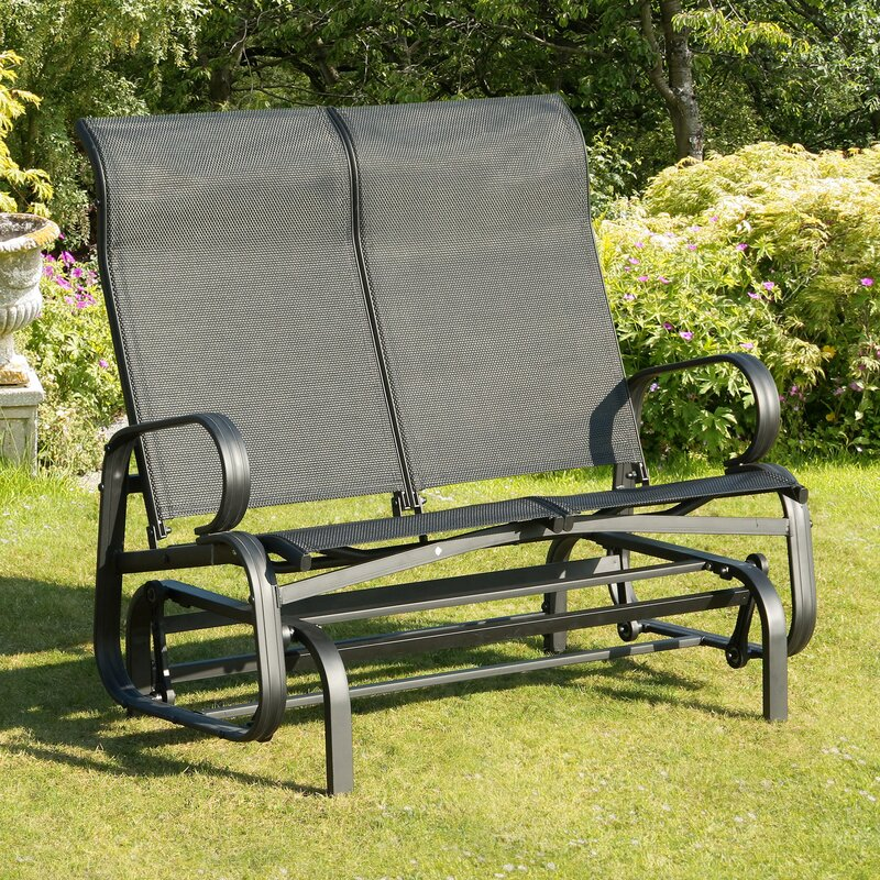 default name. SunTime Outdoor Living Havana Twin Seat Bench Glider   Reviews