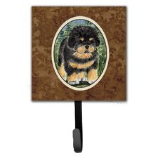 Tibetan Mastiff Leash Holder and Wall Hook by Caroline's Treasures