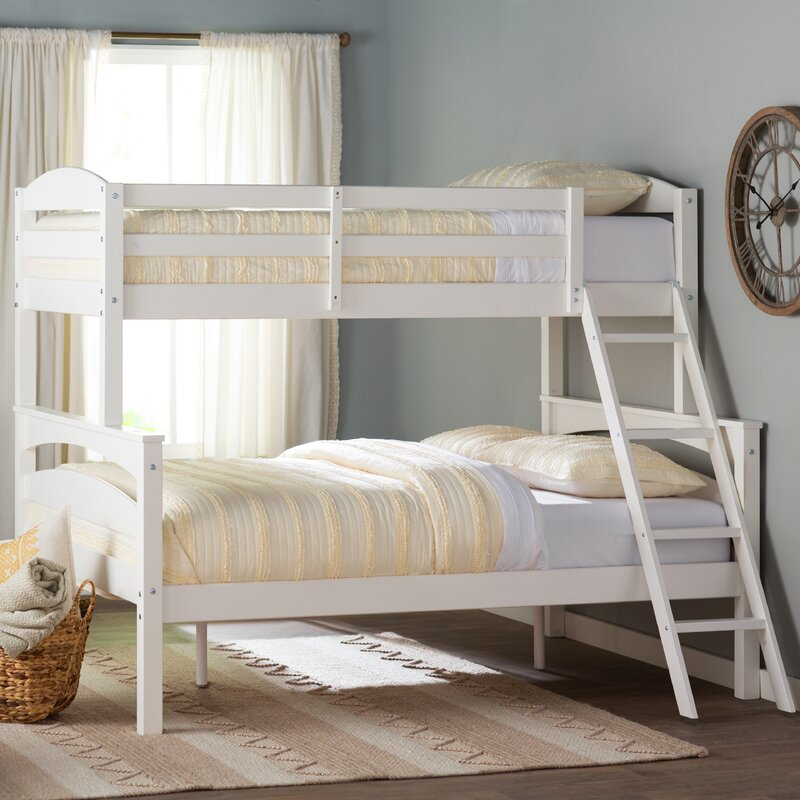 sienna rose twin over full bunk bed - Frame For Bed