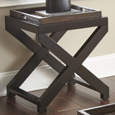 Stillman End Table by Alcott Hill