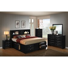 Blemerey Platform 5 Piece Bedroom Set by Roundhill Furniture