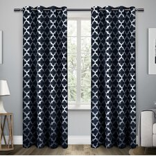 geometric curtains ds you ll love wayfair