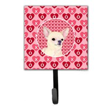 Chihuahua Leash Holder and Key Hook by Caroline's Treasures