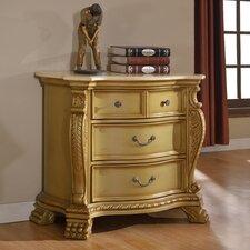 Burnett 4 Drawer Nightstand by Astoria Grand
