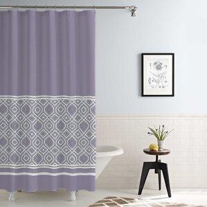 Jaida Waterproof Printed 14 Piece Shower Curtain SetPurple Shower Curtains  You ll Love WayfairGray And Purple Shower Curtain  Reflections 72 x 72 Purple Fabric  . Grey And Purple Shower Curtain. Home Design Ideas