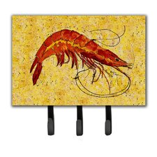 Shrimp Key Holder by Caroline's Treasures