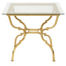 Marcia Square Metal Base End Table by Willa Arlo Interiors