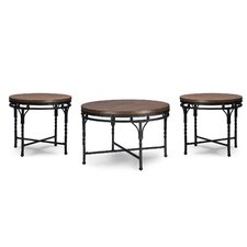 Nikanor 3 Piece Coffee Table Set by Latitude Run