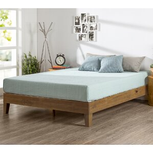 wood platform bed - Wood Bed Frame King