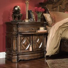 Windsor Court 2 Drawer Nightstand by Michael Amini (AICO)