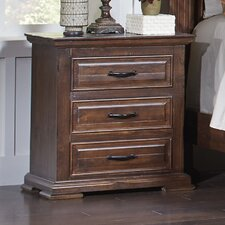 High Chaparral 3 Drawer Nightstand by Avalon Furniture