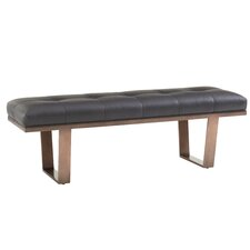 Zavala Fuller Leather Bedroom Bench by Lexington