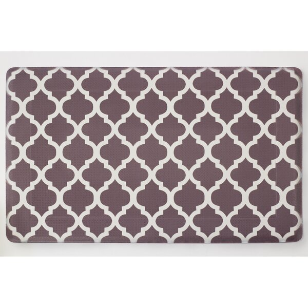 Chef Gear Comfort Quatrefoil Anti Fatigue Kitchen Mat U0026 Reviews | Wayfair.ca