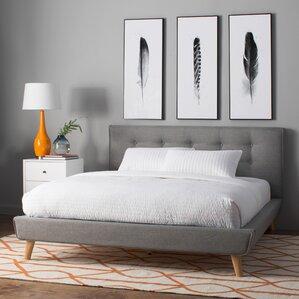 rasmussen upholstered platform bed