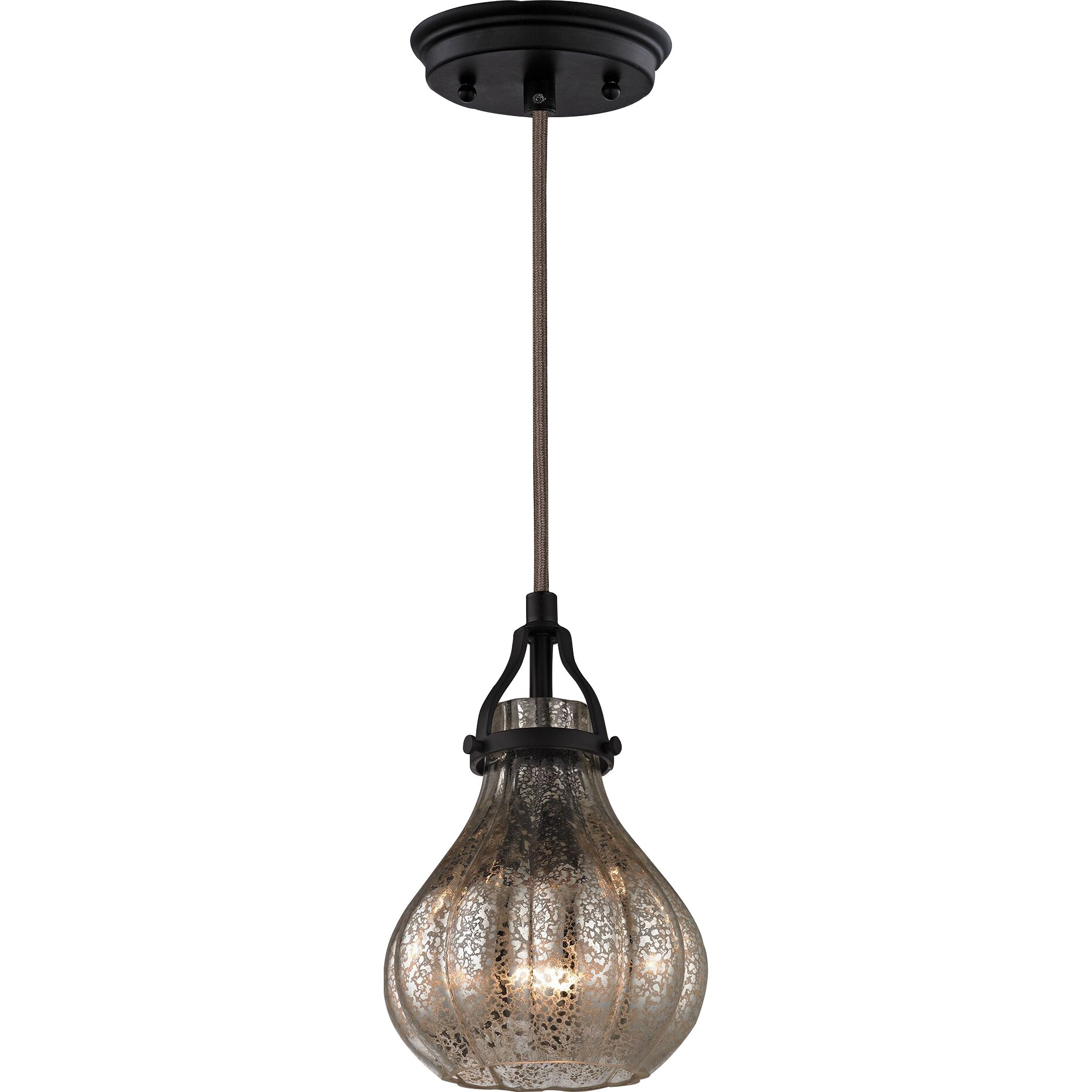 Elk Lighting Modern Farmhouse: Laurel Foundry Modern Farmhouse Orofino 1-Light Mini