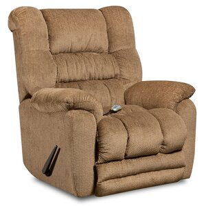 Lawnton Massaging Microfiber Recliner with Heat Control by Darby Home Co