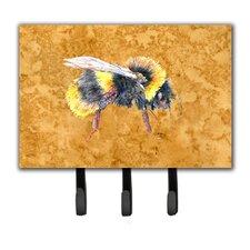 Bee Key Holder by Caroline's Treasures