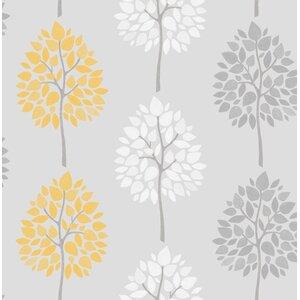 Riva Tree 10m x 52cm Wallpaper Roll